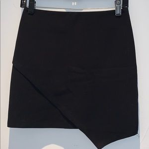 Rumor Black Mini Skirt